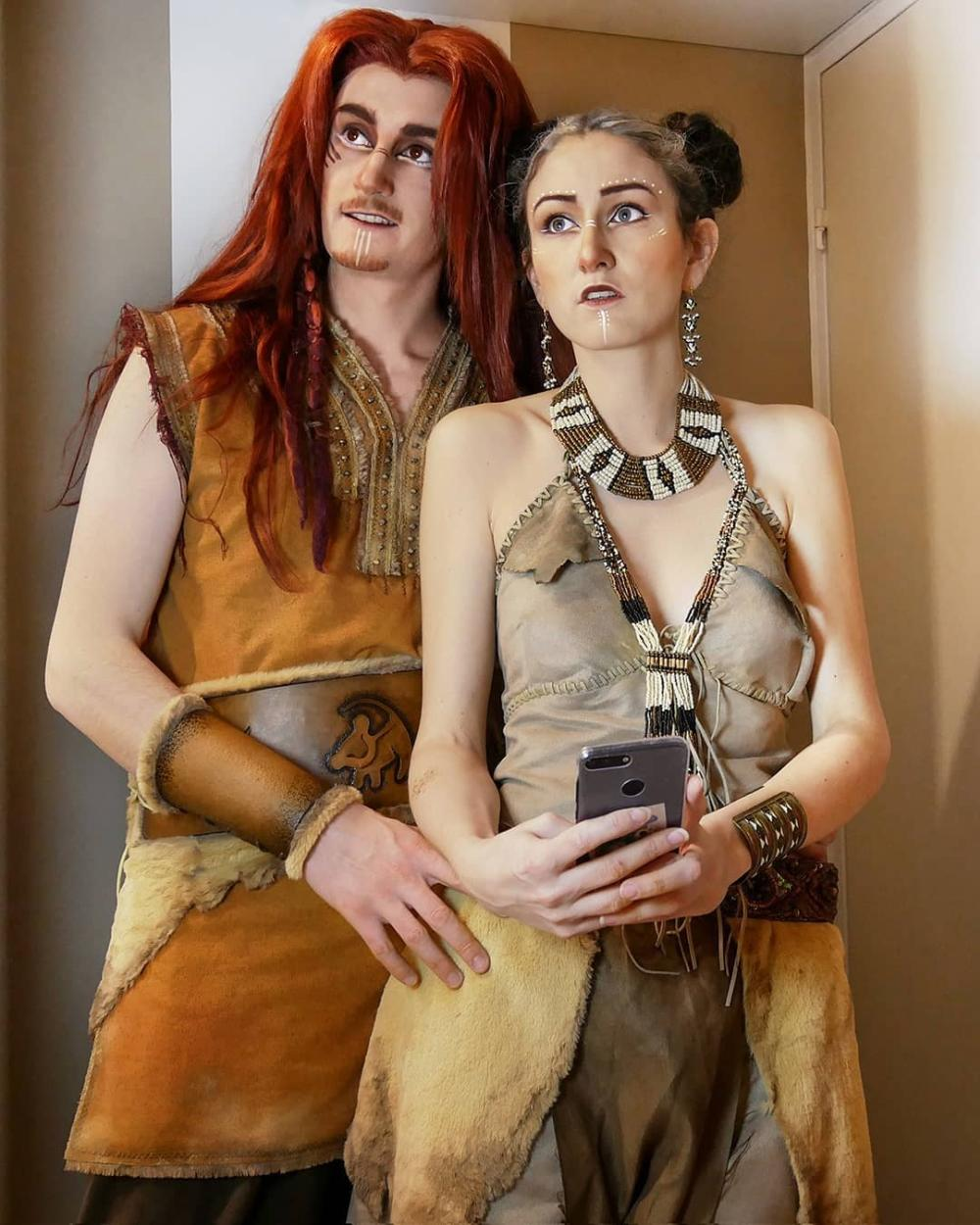 Lion king couples halloween costumes