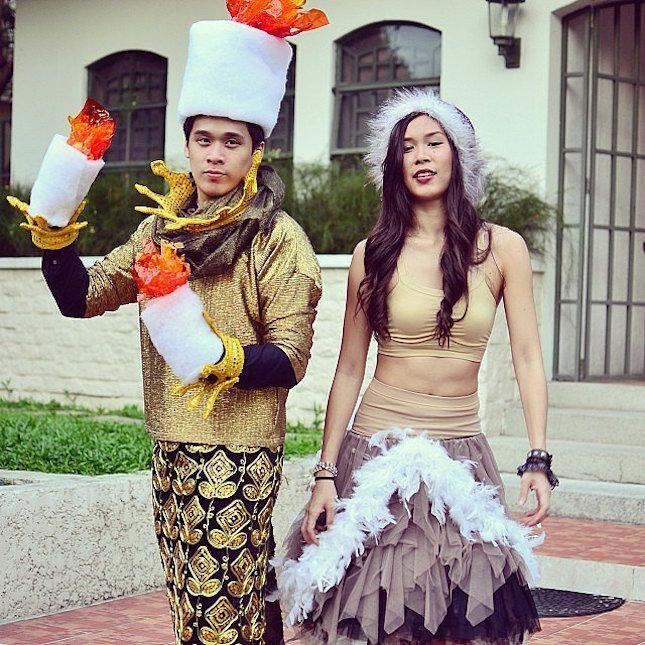 Lumiere & Babbette Matching Couple Outfits