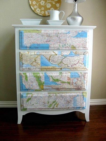 Map dresser