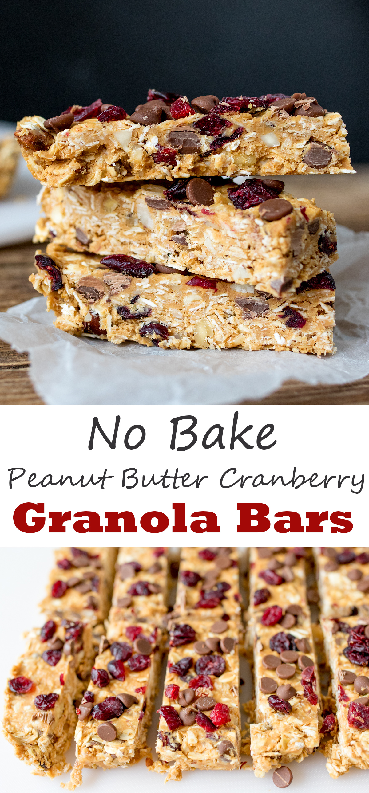 No bake peanut butter granola bars pinterest