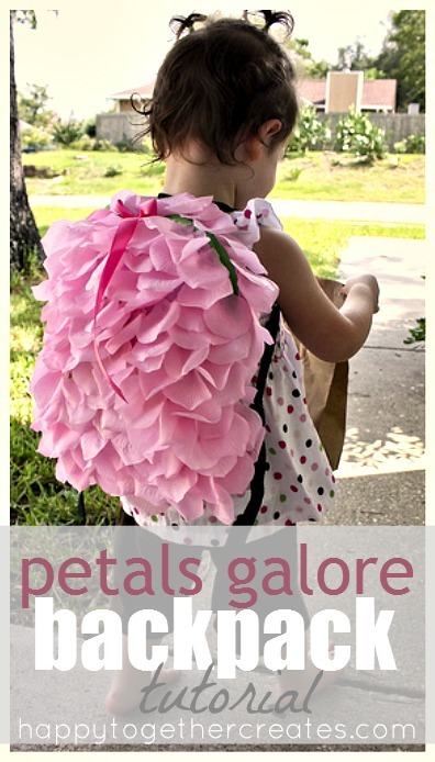 Petals galore backpack