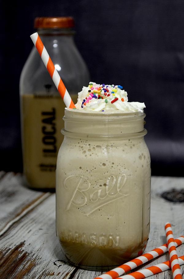 Root beet float milk shake