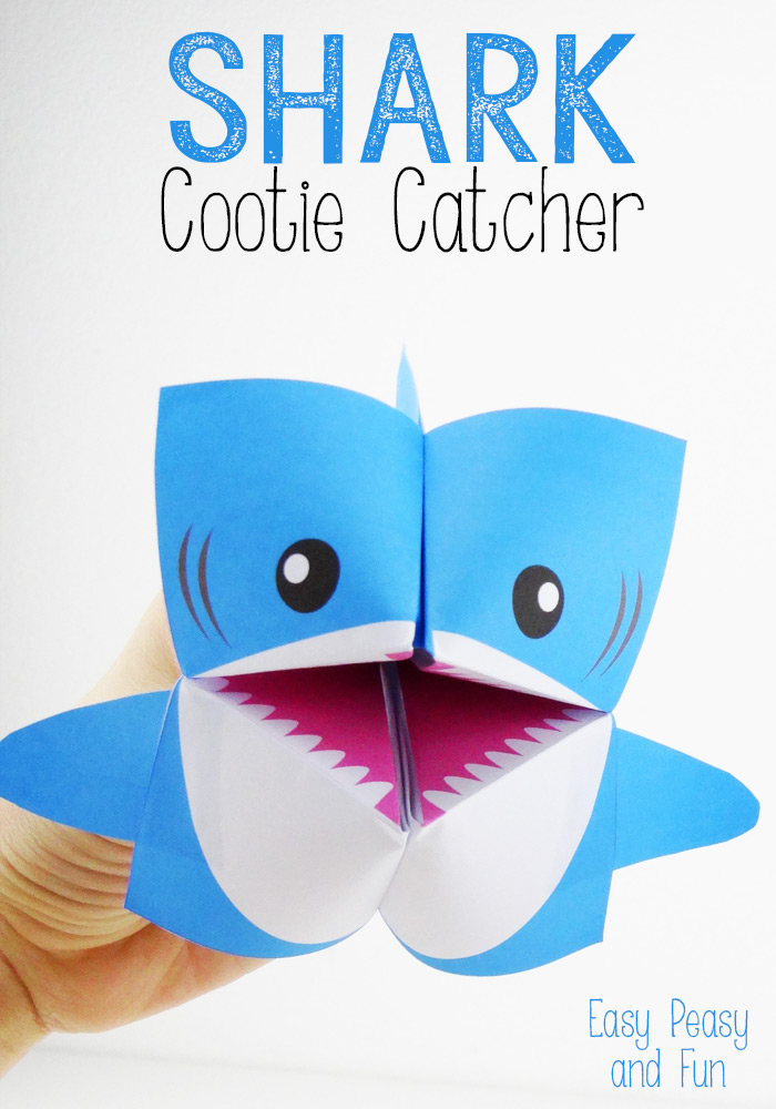 1 Shark Cootie Catcher