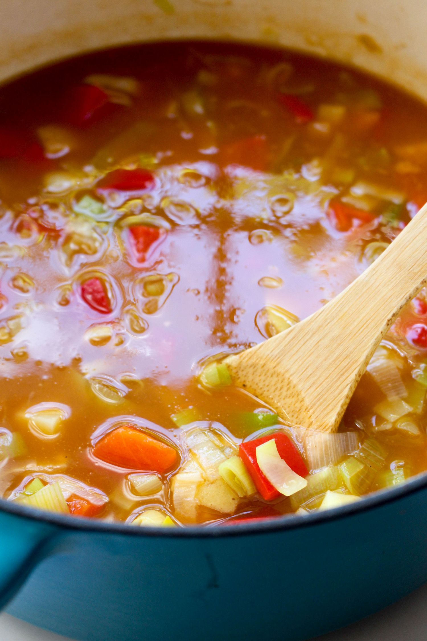 Spring minestrone recipe beans