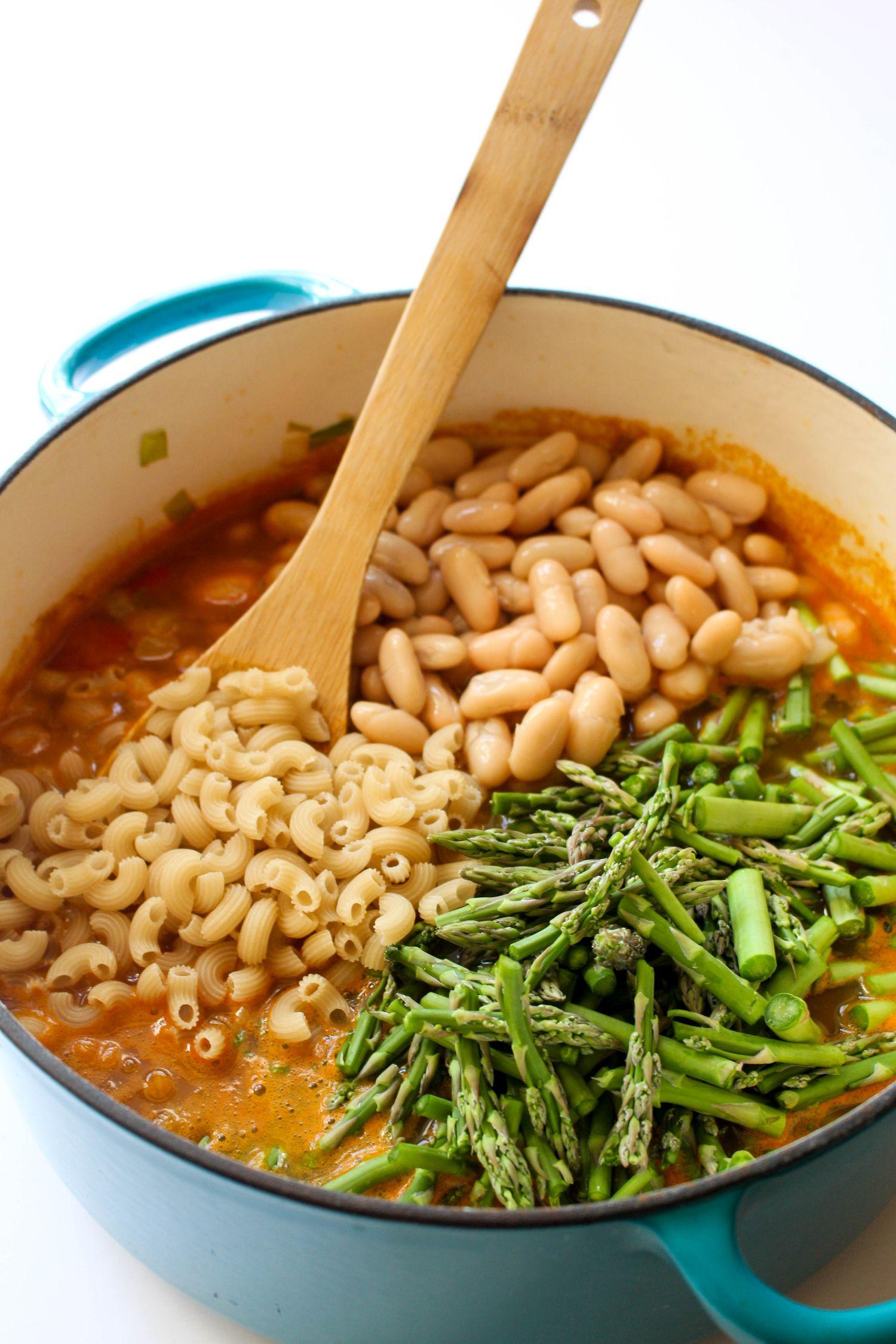 Spring minestrone recipe mix