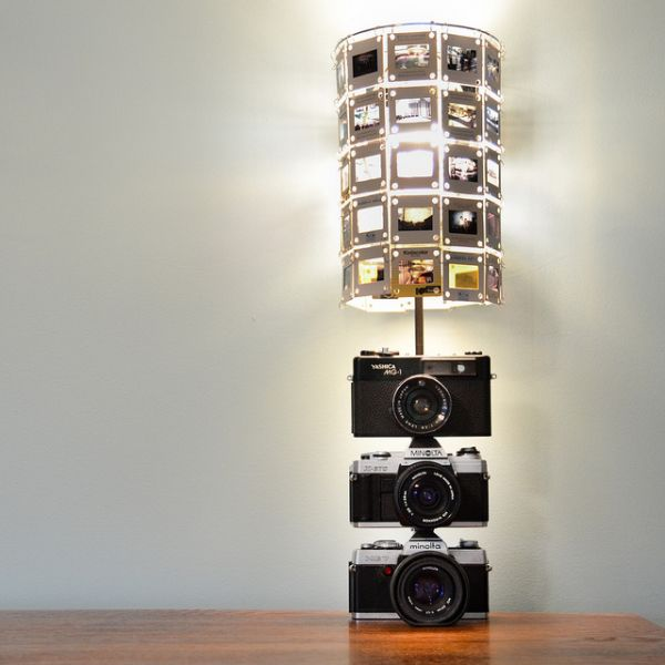 Stacked camera lamp