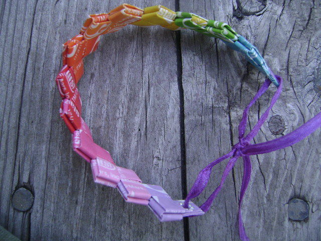 Starburst wrapper headband