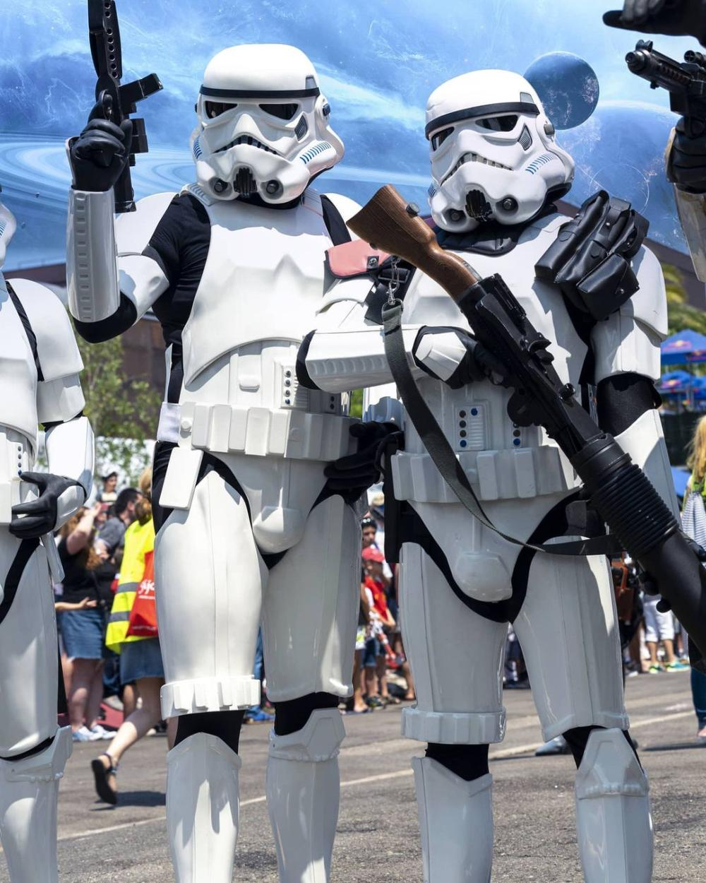 Stormtroopers couple costumes