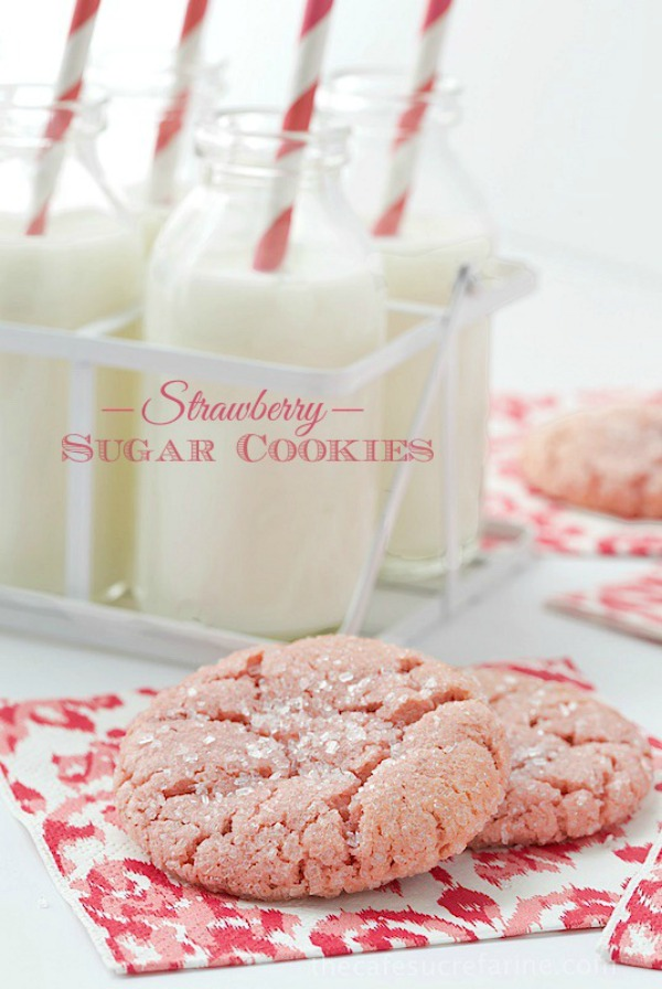 Strawberry sugar cookies1