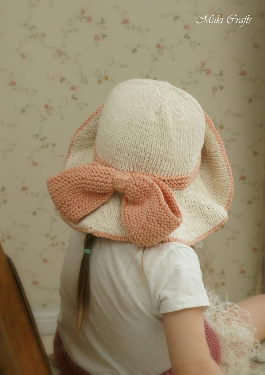 Sun hat solei by muki crafts