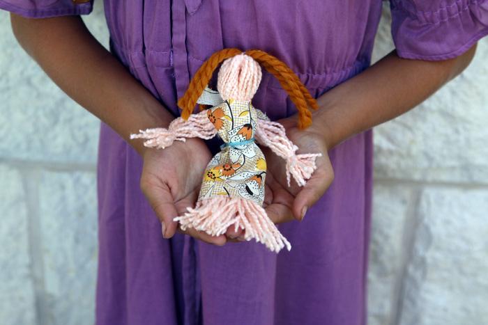 Yarn doll