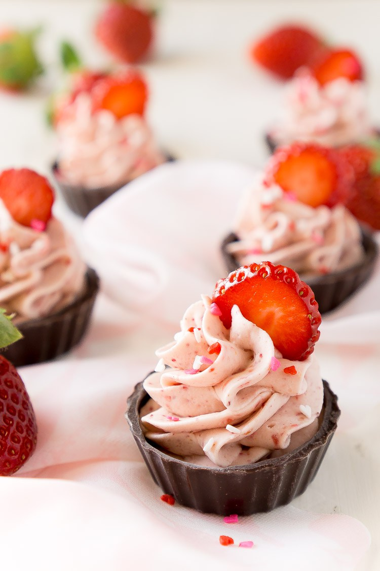 chocolate strawberry mousse cups recipe 4 of 5