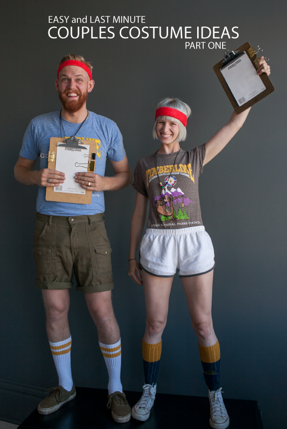 Camp Counselors Matching Couples Costumesv