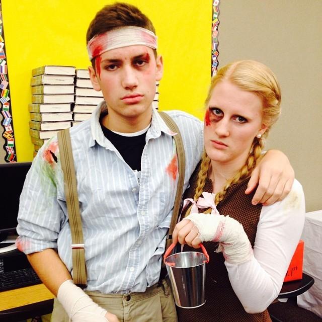 Jack & Jill Couples Halloween Costumes