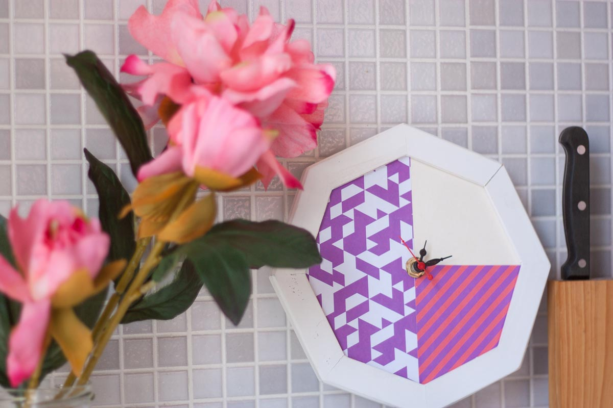 Diy wall clock restyling set 1