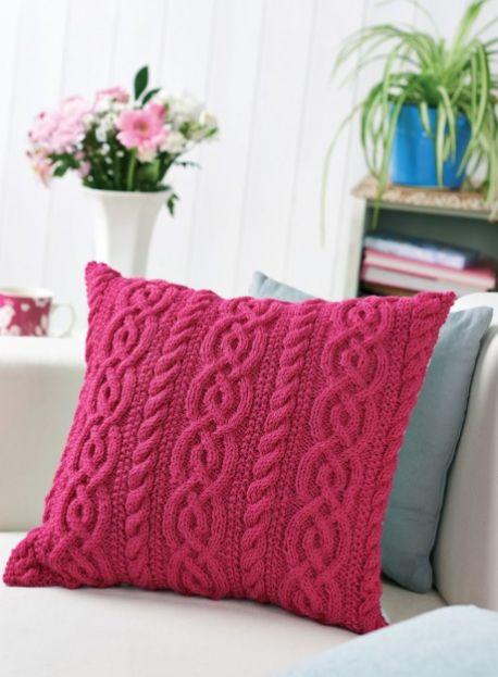 Knit pillow 01