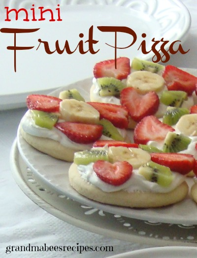 Mini fruit pizza 2