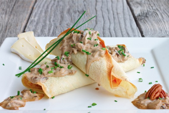 Savory crepes recipe