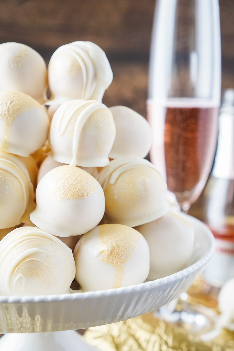 strawberry champagne cake balls recipe 9 of 10