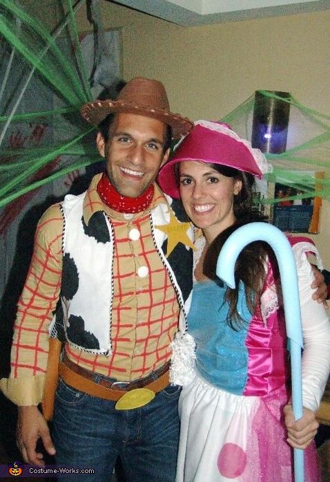 Woody & Bo Peep Creative Couples Costumes