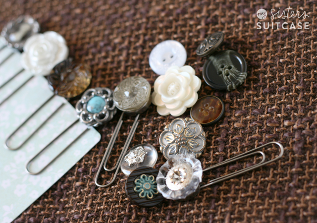 Vintage looking buttons