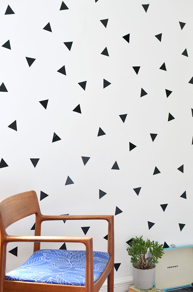10 Triangle Decal Wall Diy