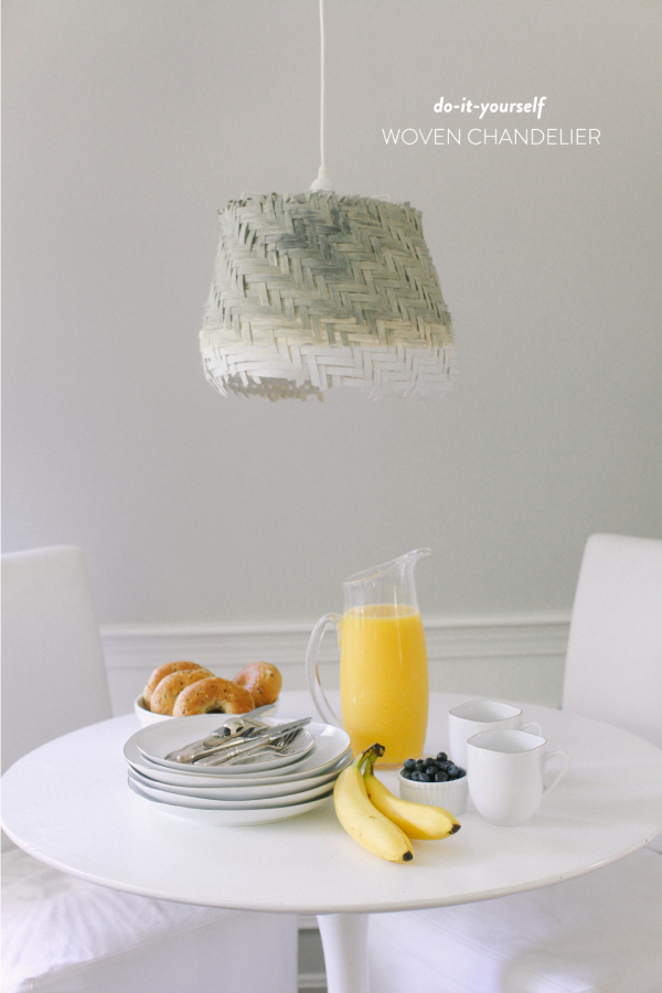 25 ikea lighting hacks 12 woven chandelier ikea hack aloadofball Image collections