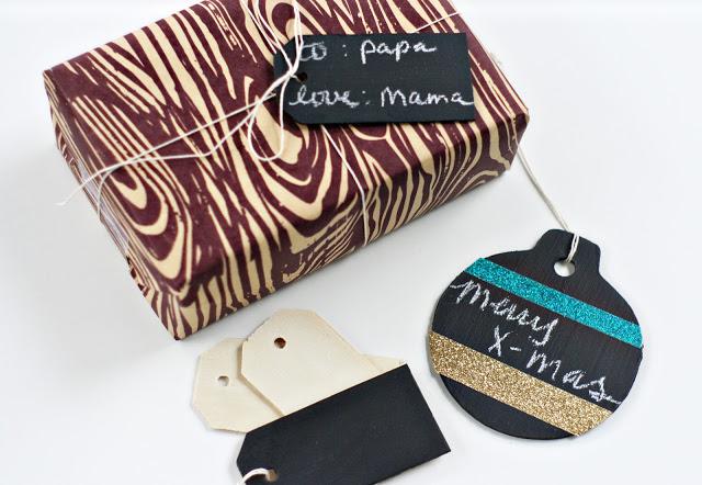 14 chalkboard christmas gift tags