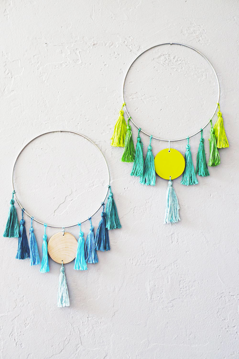 14 tassel wall hanging