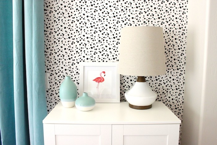 15 wall paper fabric diy