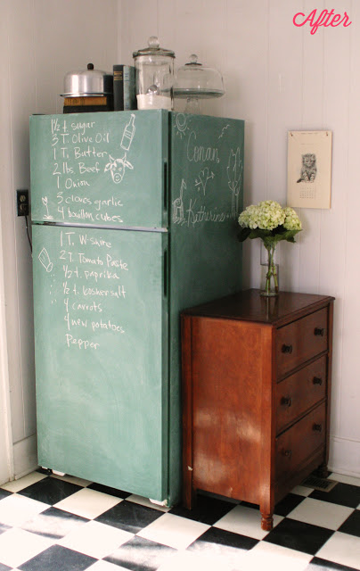 19 chalkboard refrigerator