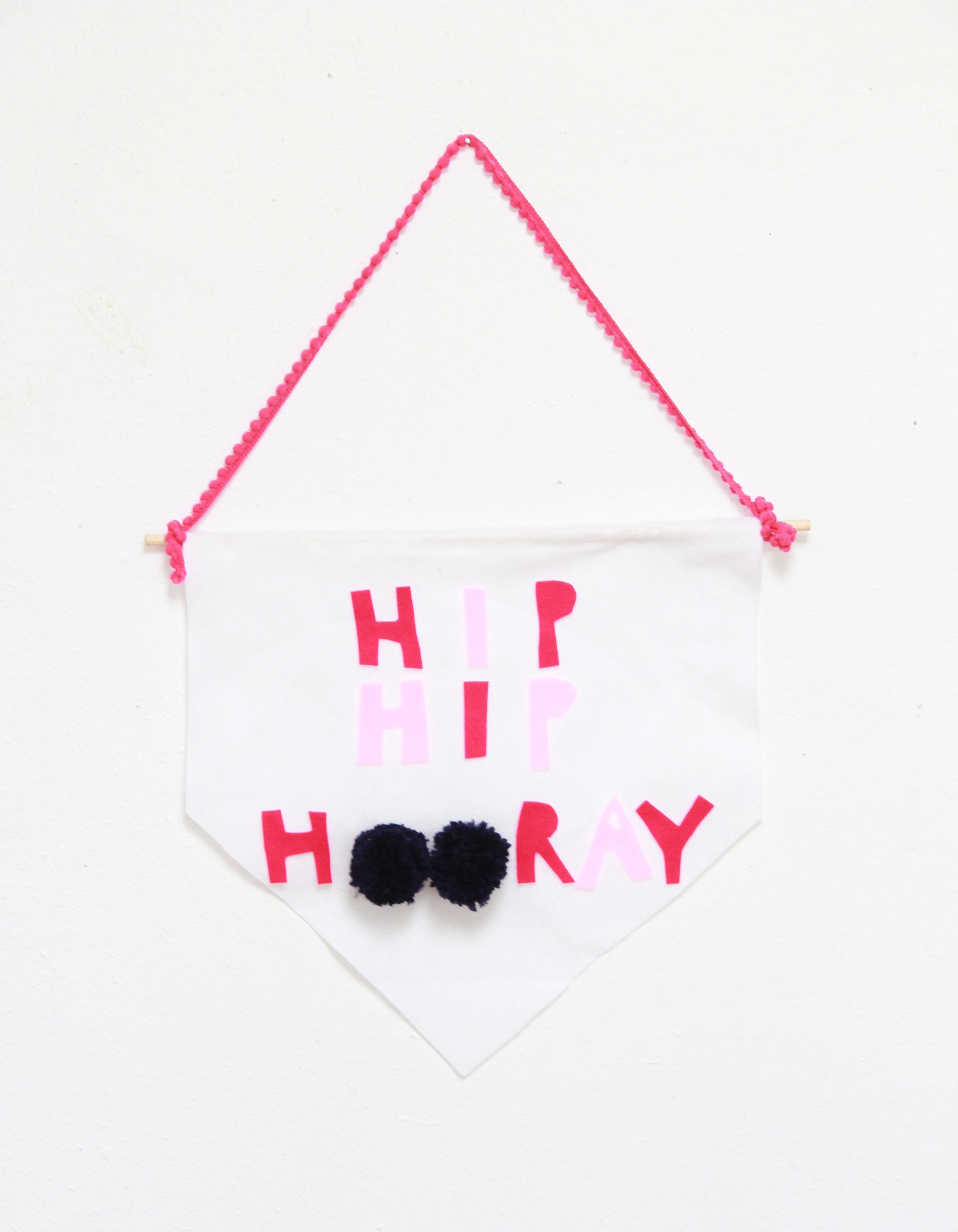 2 hooray banner diy dorm decor