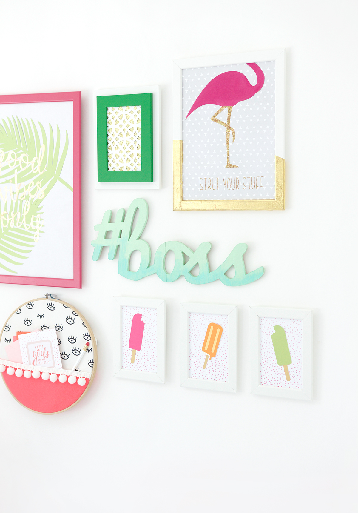20 diy picture gallery wall