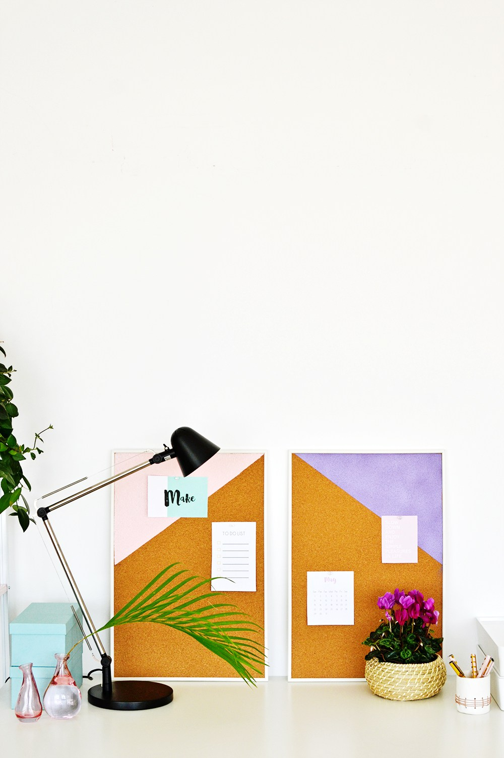 23 diy geometric pin boards