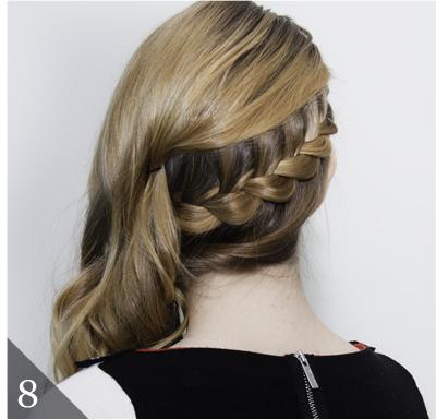 24 lace braid hair tutorial