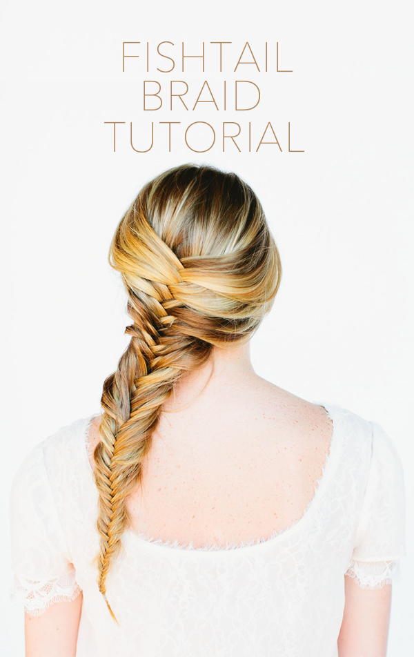 3 fishtail braid tutorial