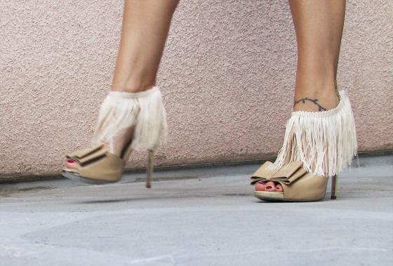 Ankle fridge heels diy