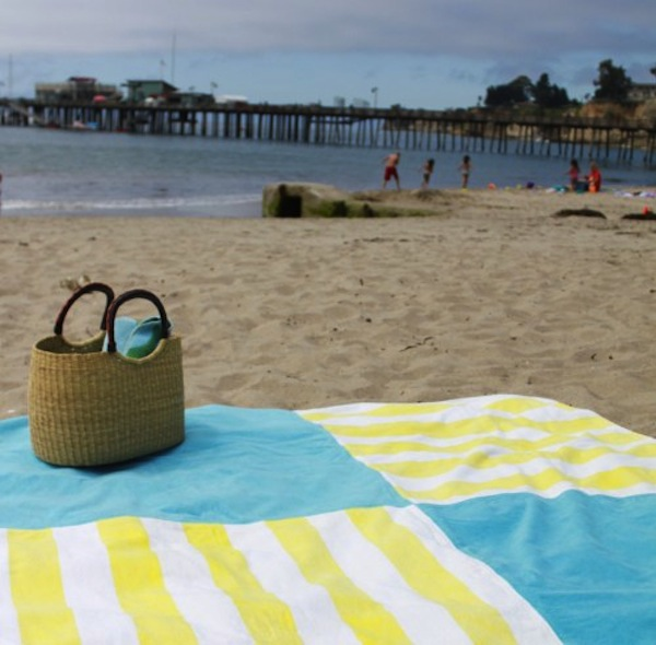 Beach towel blanket