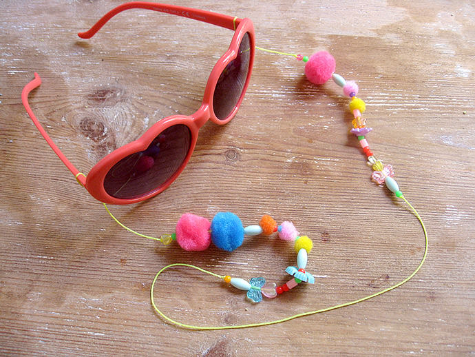 Beaded lolita glasses chain