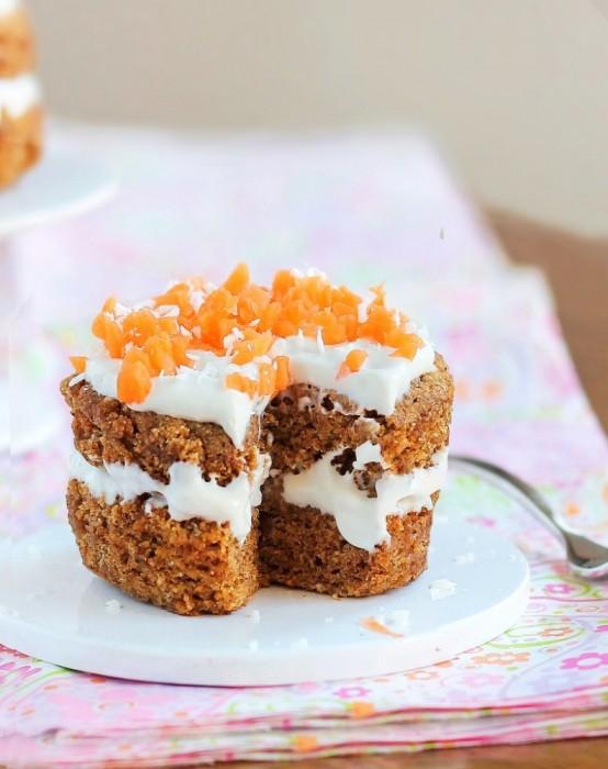 Carrot cake mug recipe