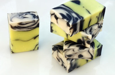 Castor oil lemon soap