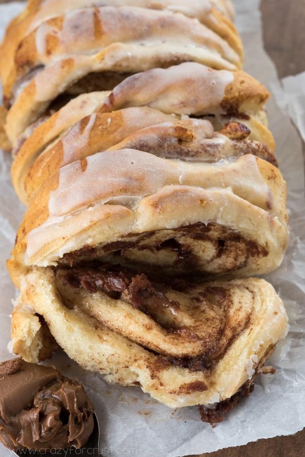Chocolate cinnamon roll pull apart bread 5 of 7w