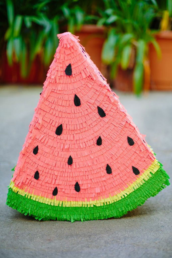 Diy watermelon pinata