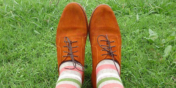 Dyed suede shoes diy