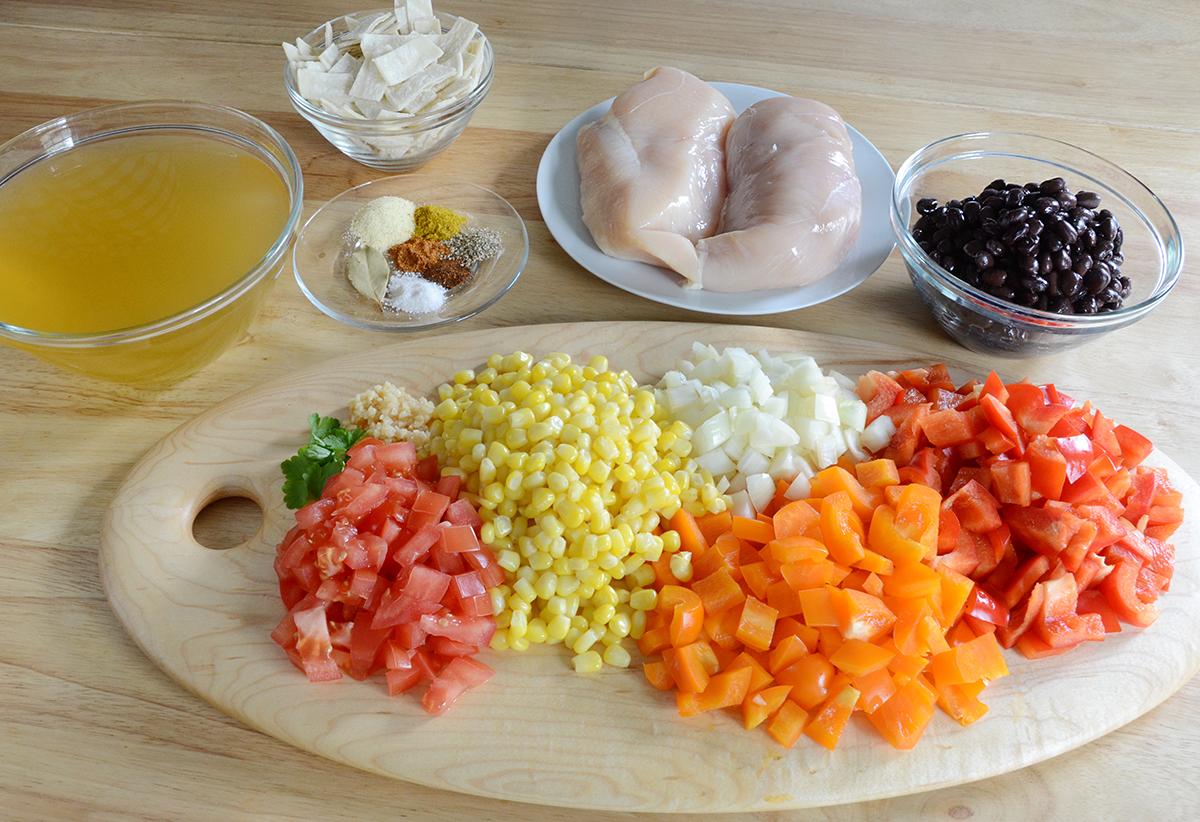 Easy tortilla stew soup recipe 1