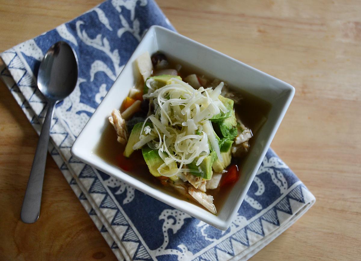 Easy tortilla stew soup recipe 6