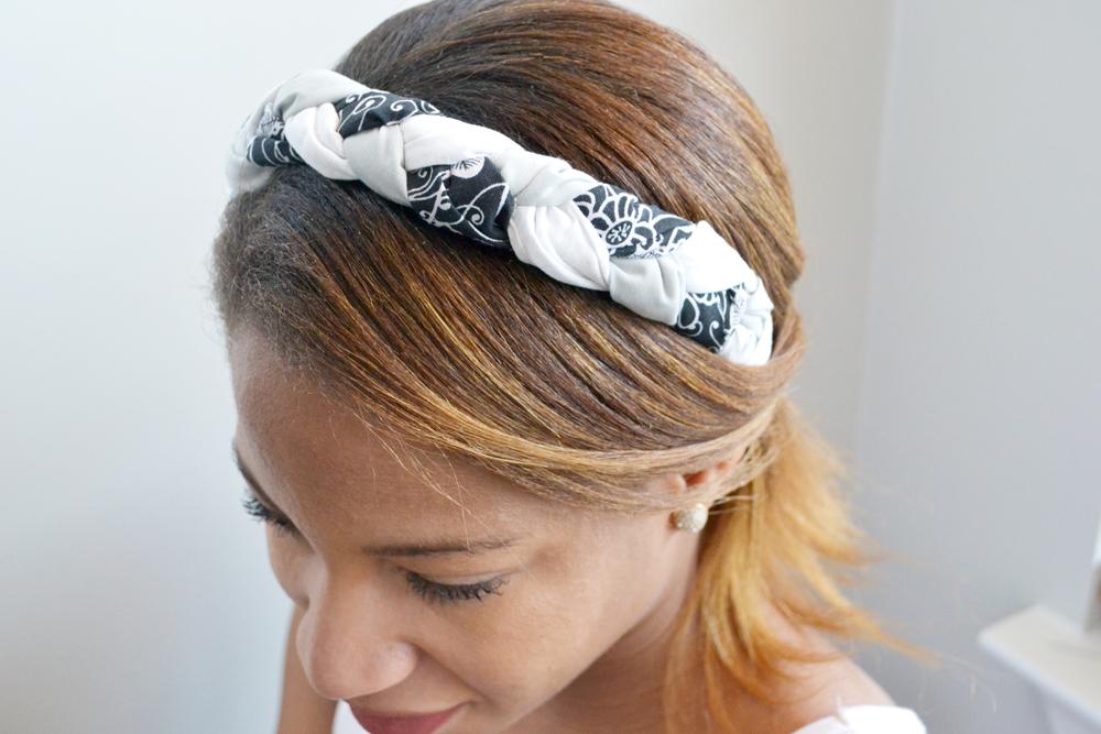 Fabric hair accessory 10