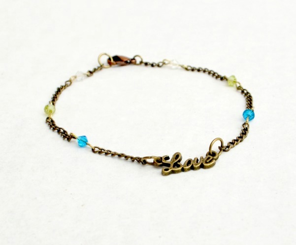 Family love anklet