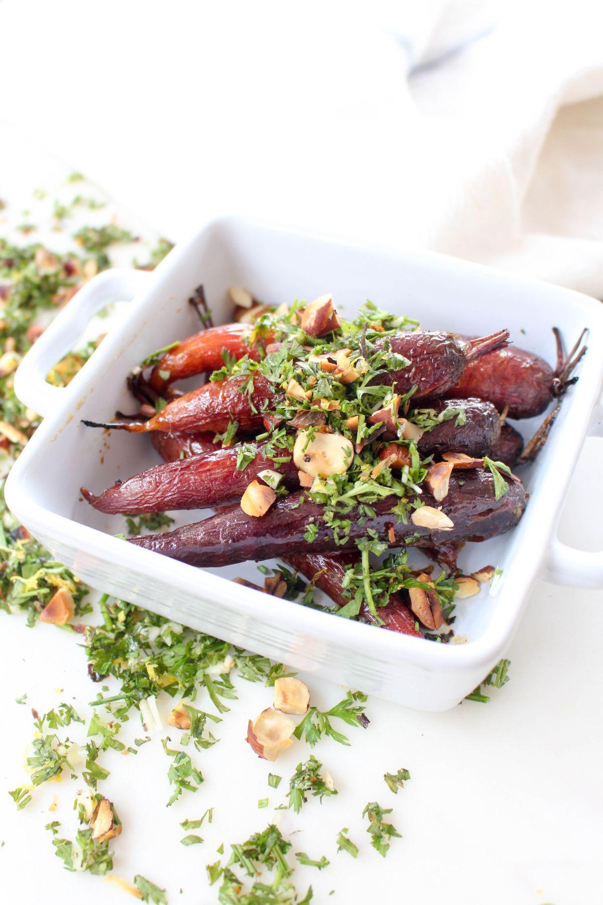 Farmers market carrots recipe