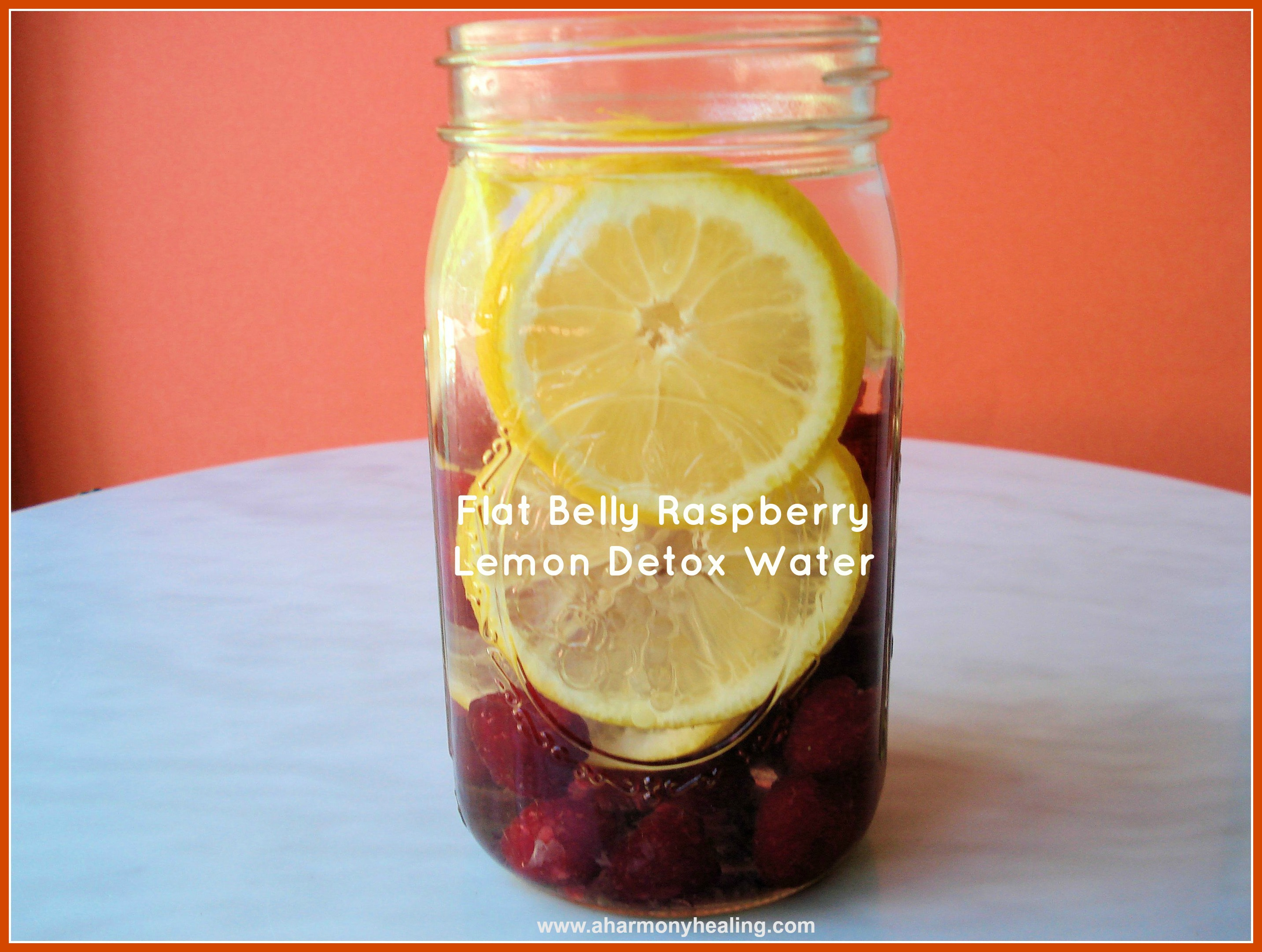 Flat belly raspberry lemon detox water feature pic 1007